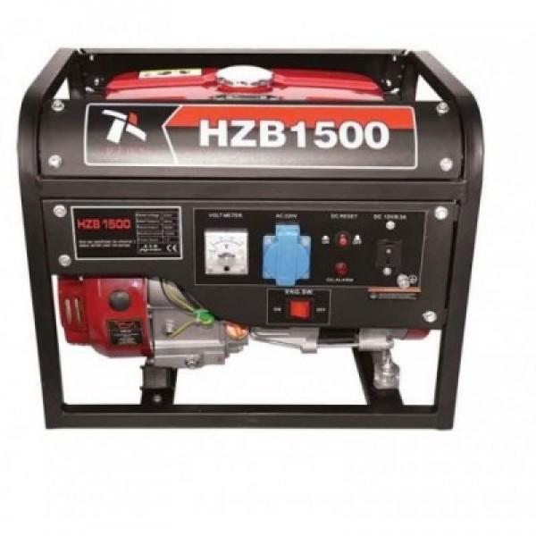 Γεννήτρια βενζίνης PLUS HZB 1500 τετράχρονη με σχοινί 3Hp - 1.5KVA -generaltradetsellos.gr