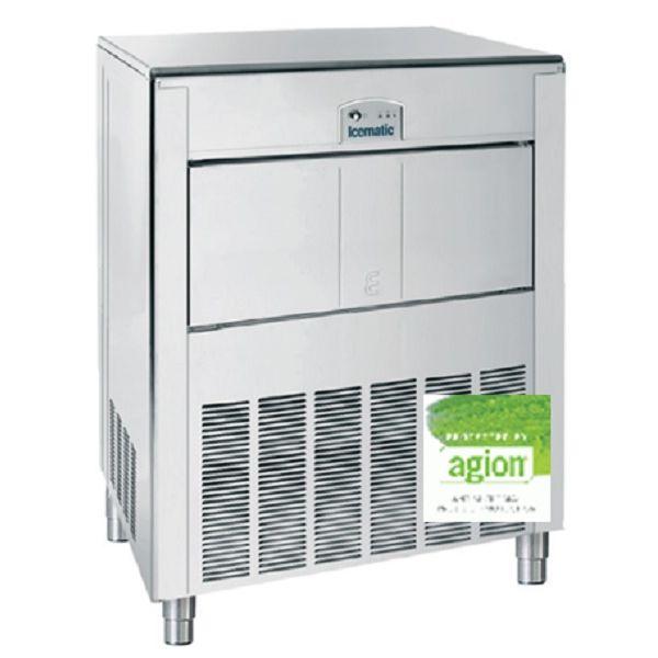 ICEMATIC E150 142kg - Παγομηχανη με αποθήκη - Παγάκι με τρυπα - Με σύστημα αναδευσης