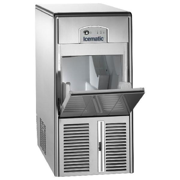 ICEMATIC E21 21kg - Παγομηχανη με αποθήκη - Παγάκι με τρυπα - Με σύστημα αναδευσης