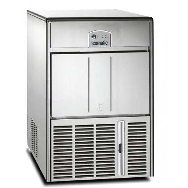 ICEMATIC E45 45kg - Παγομηχανη με αποθήκη - Παγάκι με τρυπα - Με σύστημα αναδευσης