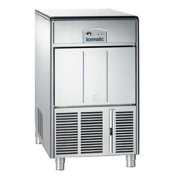 ICEMATIC E50 50kg - Παγομηχανη με αποθήκη - Παγάκι με τρυπα - Με σύστημα αναδευσης