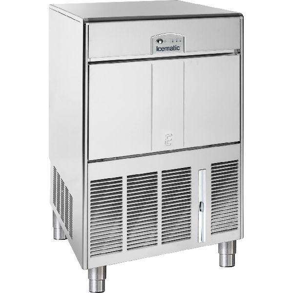 ICEMATIC E60 60kg - Παγομηχανη με αποθήκη - Παγάκι με τρυπα - Με σύστημα αναδευσης