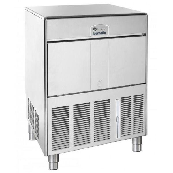 ICEMATIC E85 85kg - Παγομηχανη με αποθήκη - Παγάκι με τρυπα - Με σύστημα αναδευσης
