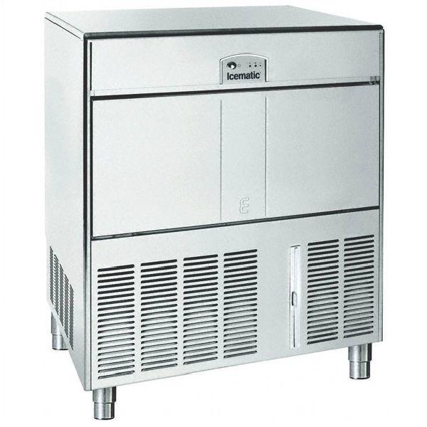 ICEMATIC E90 92kg - Παγομηχανη με αποθήκη - Παγάκι με τρυπα - Με σύστημα αναδευσης